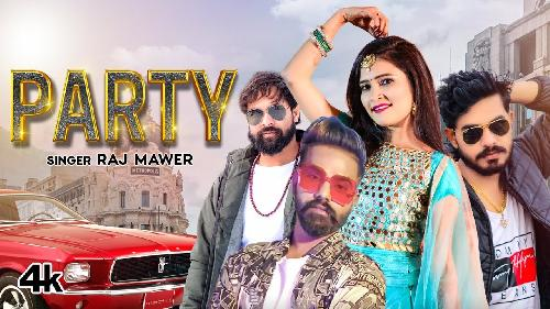 Party By Raj Mawer   Poster
